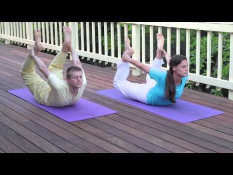 Sivananda Yoga Asana Sequence in 12 Basic Postures