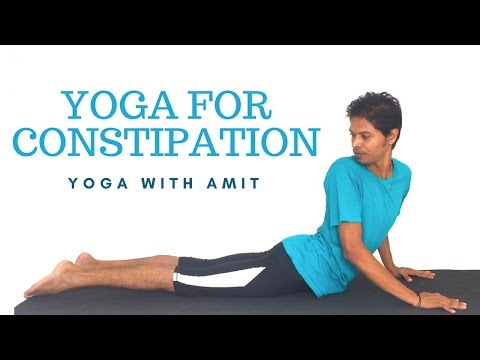 Yoga for Constipation – Yoga with Amit