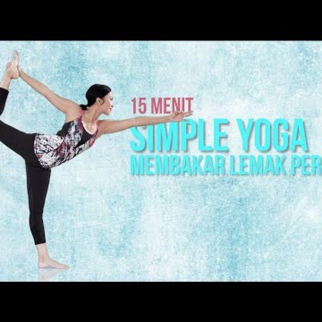 Cara Membakar Lemak Perut Dengan Gerakan Yoga   15 Menit Easy Yoga