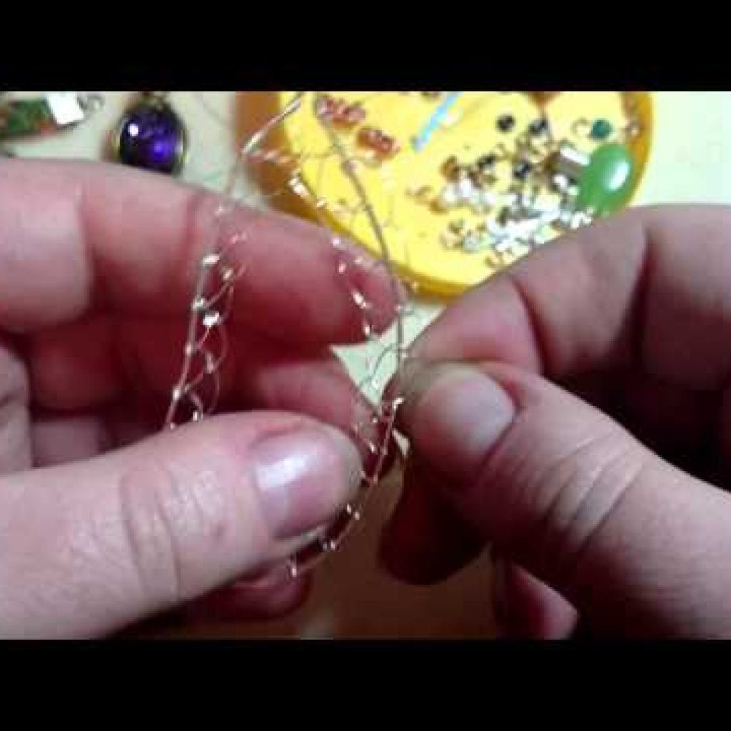Agate cleave framed netting tutorial (tubby video)