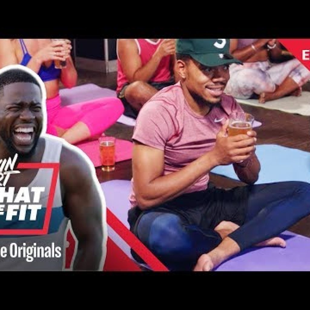 Beer Yoga with Likelihood the Rapper | Kevin Hart: What The Fit Episode 13 | Laugh Out Loud Community