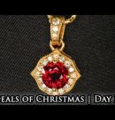 Red Ruby Pendant | 12 Deals of Christmas – Day 5