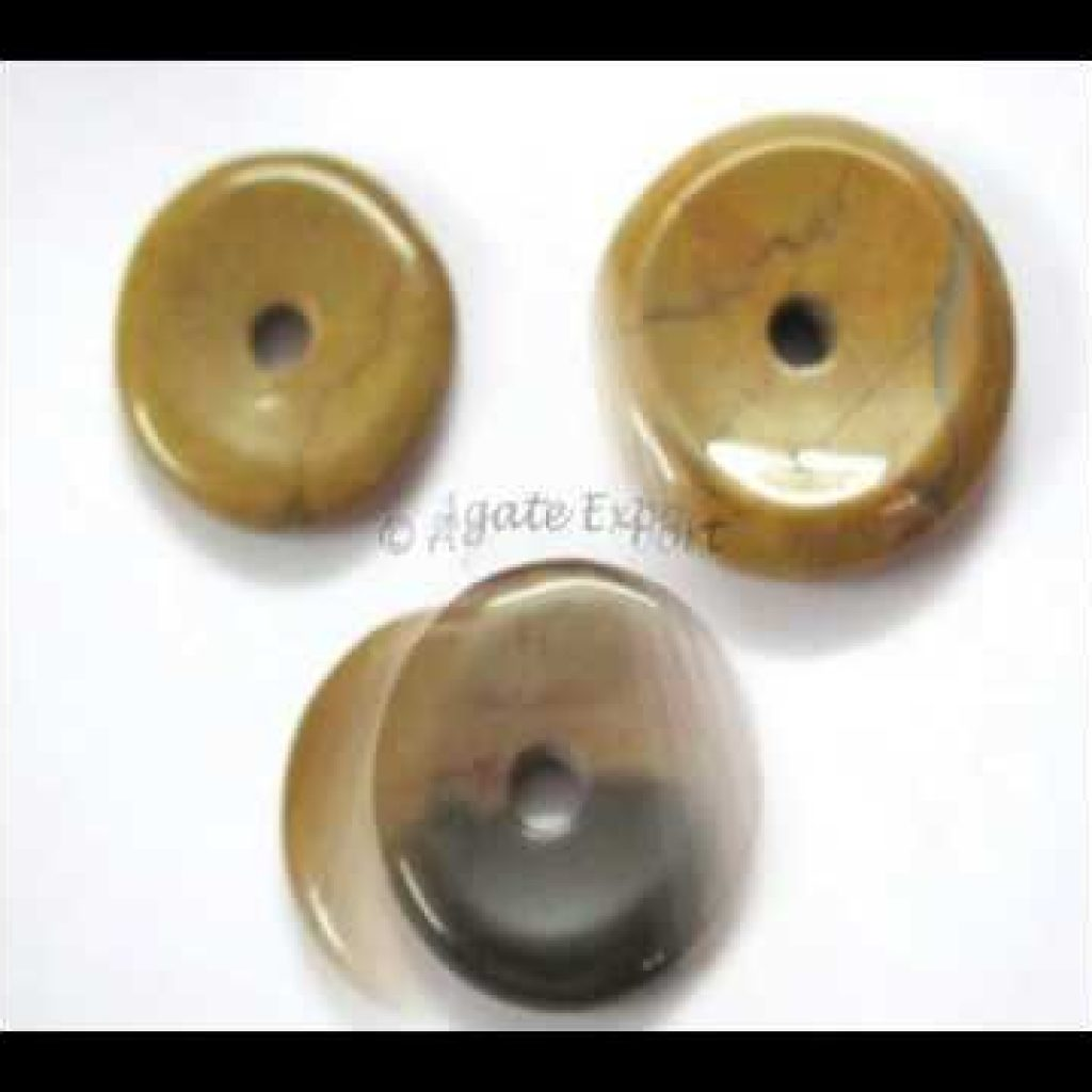 Gemstone Donuts, Agate Donuts, Agate Donuts Pendants, Wholesale Agate Donuts