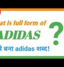 || MANish || ADIDAS || full form of Adidas || kaise bana adidas? ||