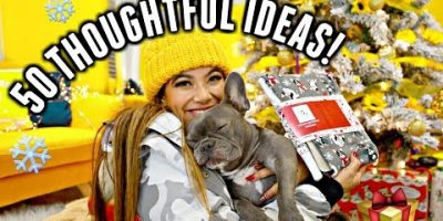 50 Xmas Present Thoughts FOR HER! Mom, sister, girlfriend, grandma, instructor, and many others.