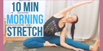 ten min Early morning Yoga Complete Human body Stretch – Yoga With out Props