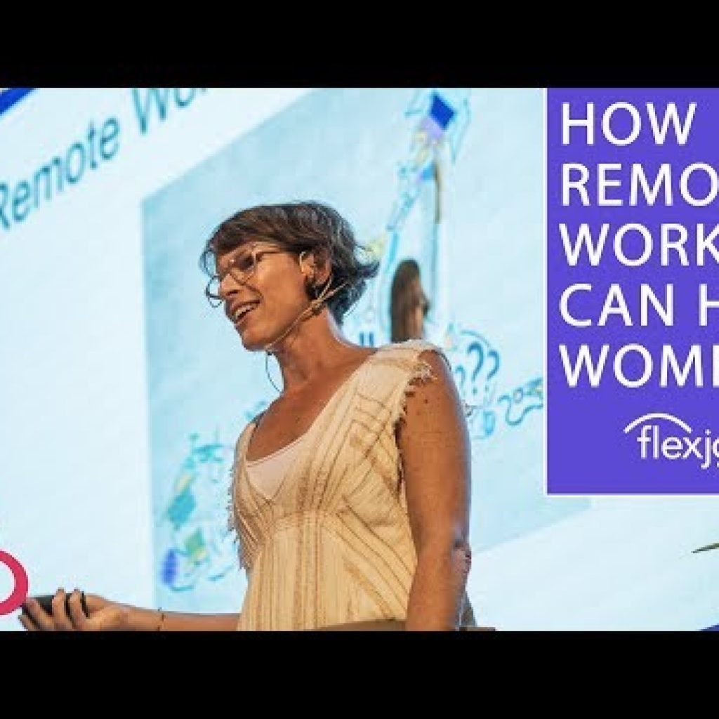 GENDER Equity: HOW Remote Do the job CAN Move THE NEEDLE. SARA SUTTON FELL, CEO, FLEXJOBS & Distant.CO