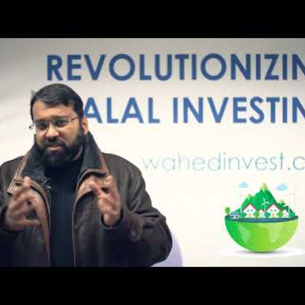 What is Halal Investing? With Sheikh Dr. Yasir Qadhi