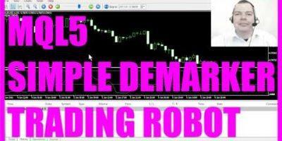 MQL5 Tutorial Basic Demarker Trading Robot