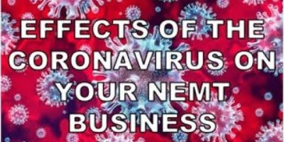 The Present-day Effect of the Coronavirus on Your Non-Emergency Healthcare Transportation Company
