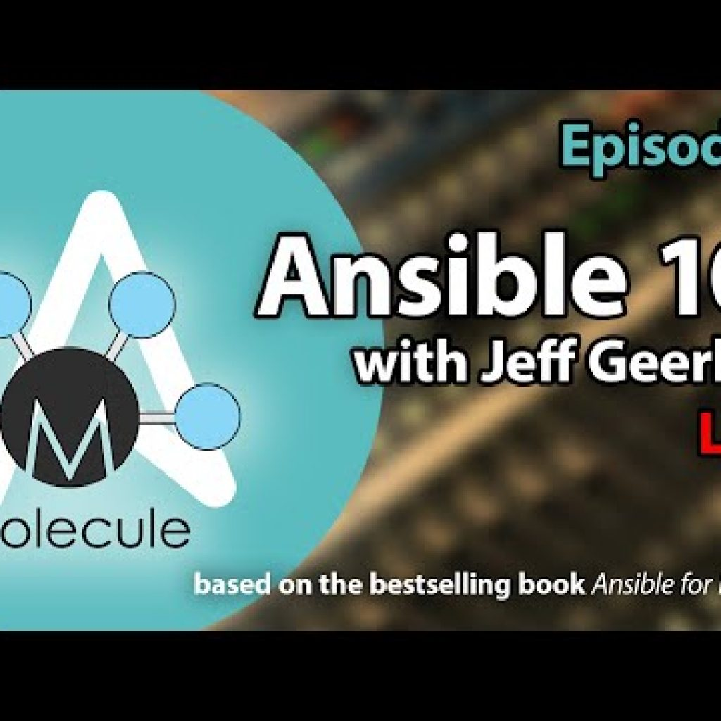 Ansible one hundred and one – Episode seven – Molecule Tests and Linting and Ansible Galaxy