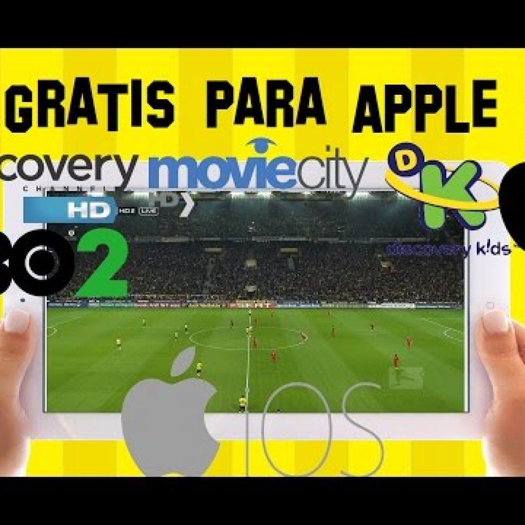 🍎 Como VER Television set SATELITAL IPTV EN iOS APPLE IPAD Apple iphone + TODOS LOS CANALES Gratis Quality + IPTV iOS