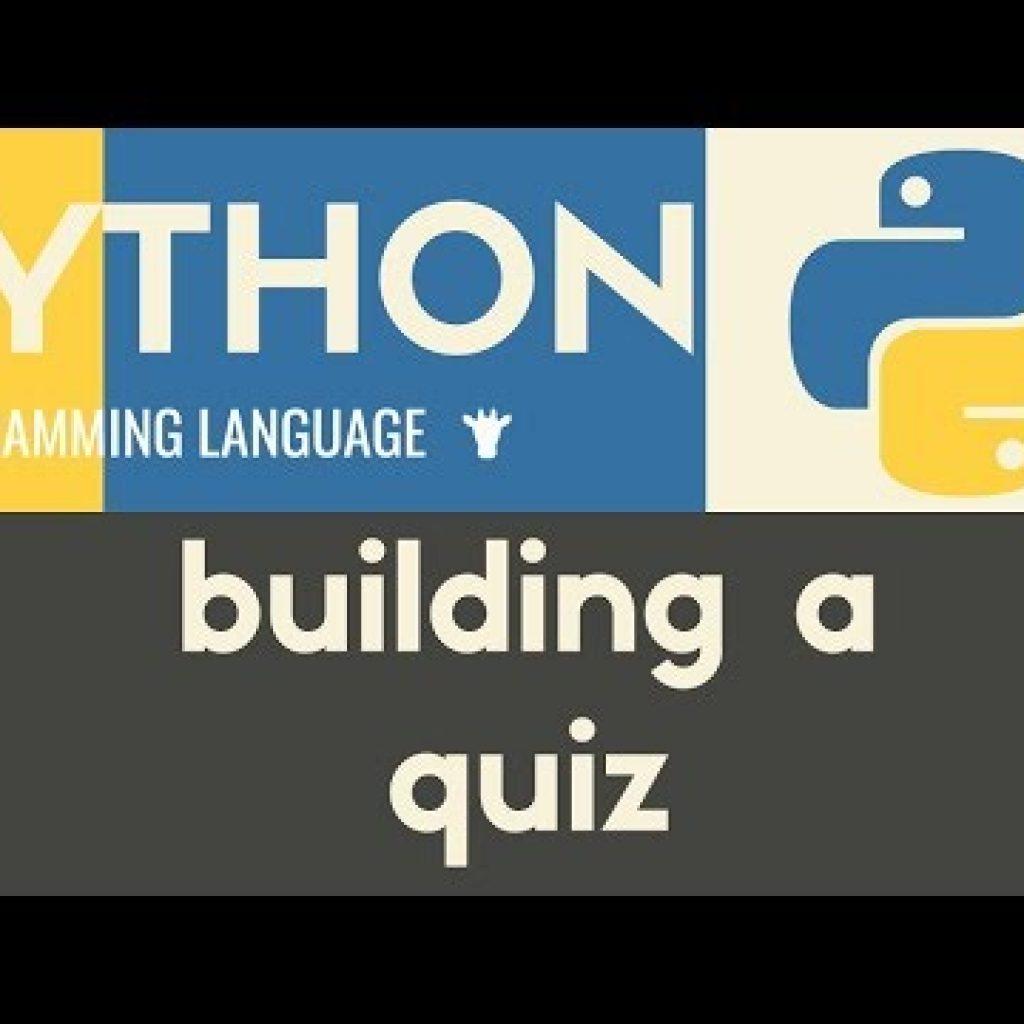 Setting up a Many Choice Quiz | Python | Tutorial 32