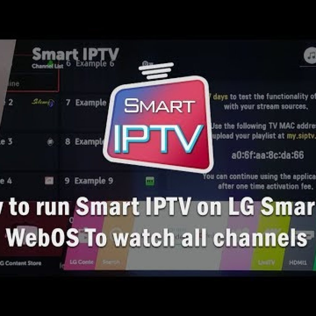 How to run Wise IPTV on LG Intelligent Tv set WebOS To look at all channels