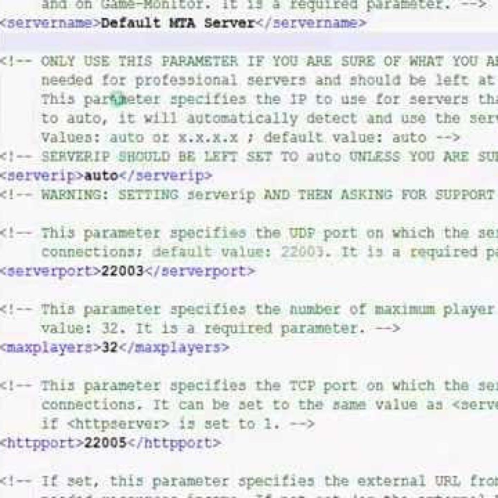 MTA:SA LUA Scripting Tutorial one : Environment Up The Server
