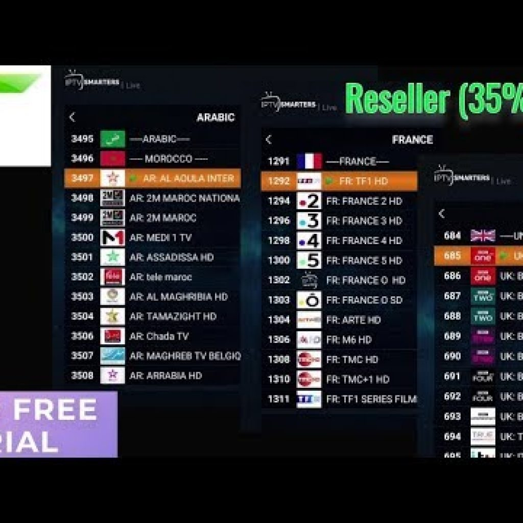 IPTV Critique: GLORY IPTV – Absolutely free demo – Reseller (35% off)
