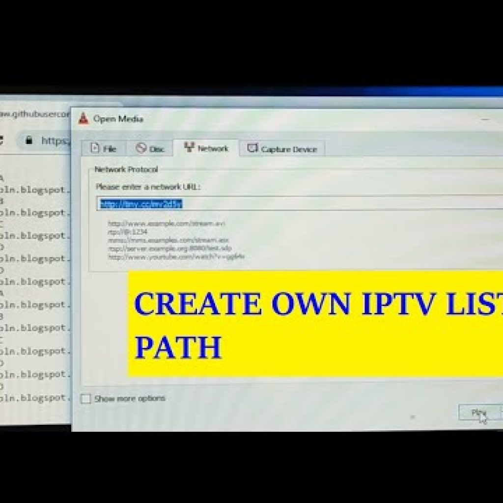how to create have IPTV List Route and Update anytime