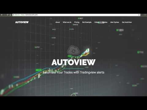 Autoview – Produce Crypto Buying and selling Bot just in several minutes in TradingView.