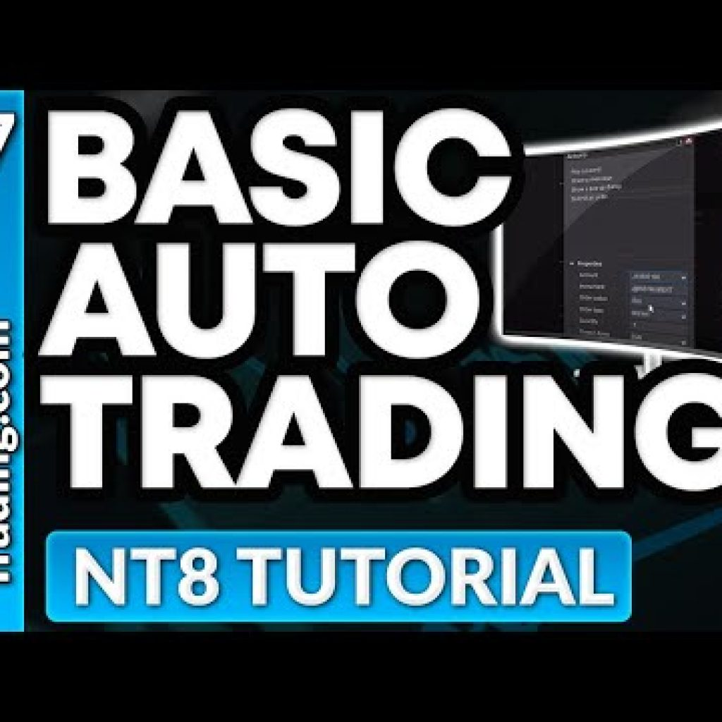Automating Trades in NinjaTrader 8 With no Figuring out Any Code