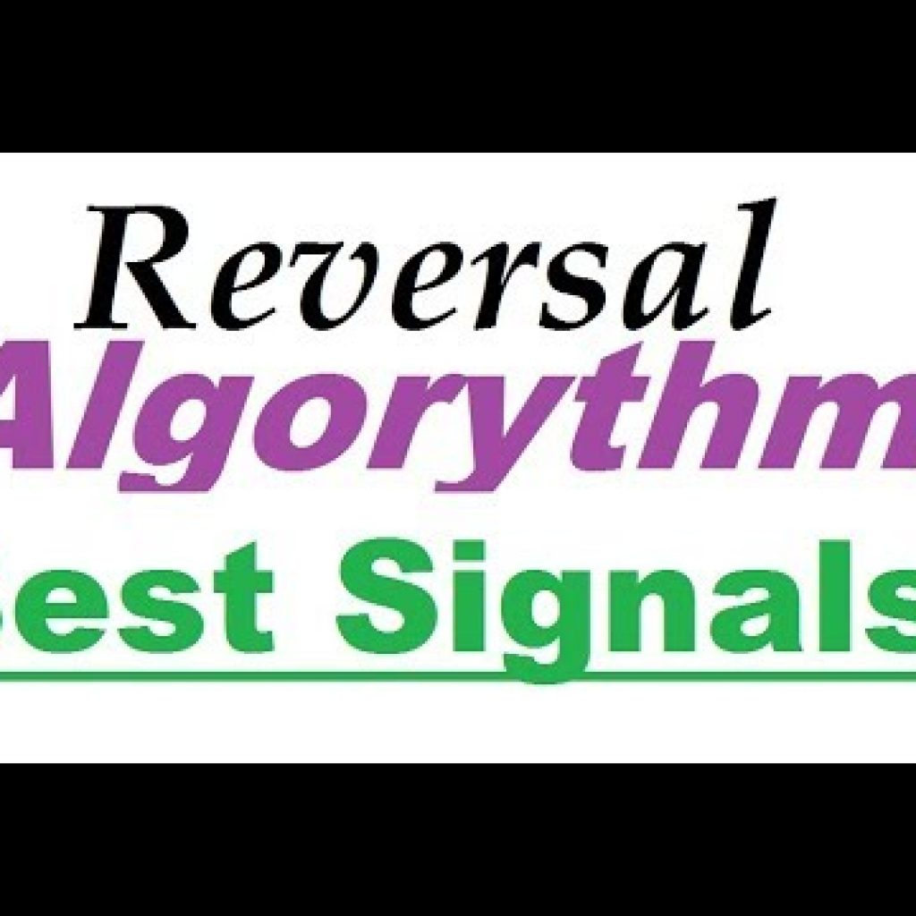 Reversal Algorithm : Very best Signal For 5 Minutes Trade